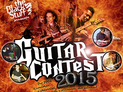 guitar contest the black stuff